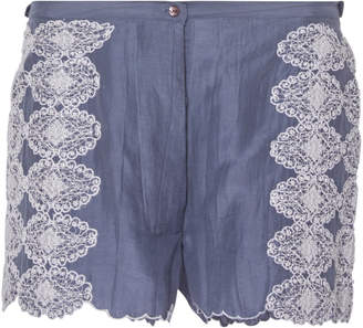 Thierry Colson Armand Lace Cotton Blend Mini Short