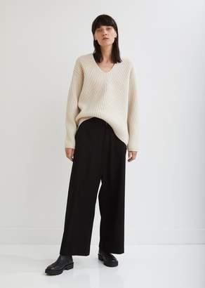Y's Wide Leg Pocket-Front Pants