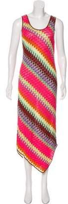 Missoni Sleeveless Printed Maxi Dress