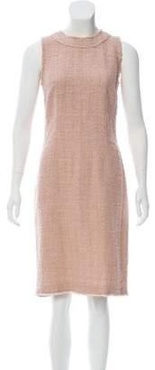 Dolce & Gabbana Tweed Knee-Length Dress