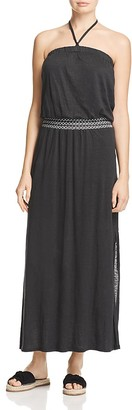 Red Haute Convertible Maxi Dress $178 thestylecure.com