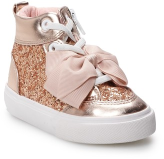 Jo-Jo Jojo Siwa JoJo Siwa Glitter Toddler Girls' High Top Shoes