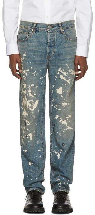 Helmut Lang Blue Re-Edition Painter Jeans
