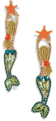 BaubleBar Ariel Mermaid Drop Earrings