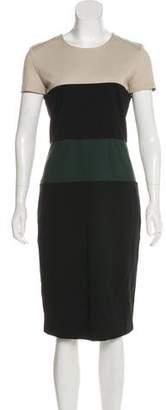 Max Mara Paneled Midi Dress
