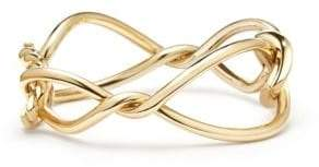 David Yurman Wisteria Bold Bangle in 18K Gold