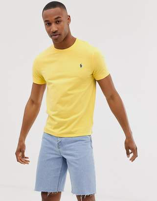Polo Ralph Lauren player logo t-shirt in yellow