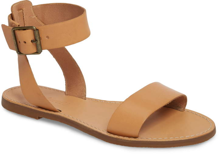 Madewell The Boardwalk Ankle Strap Sandal