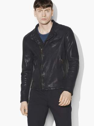 Leather Motocross Jacket $1,898 thestylecure.com