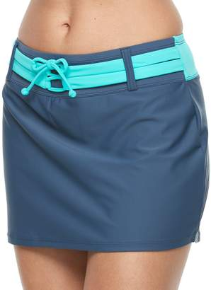 Free Country Women's Colorblock Skirtini Bottoms