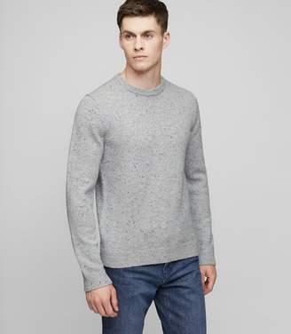 Reiss Snowy Flecked Crew-Neck Jumper