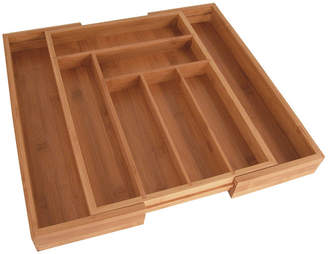 Totally Bamboo Expandable Drawer Organizer