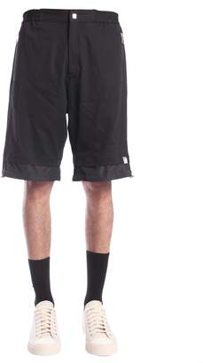 Versace Short With Technical Fabric Insert