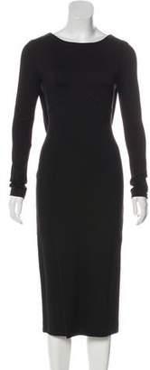 Antonio Berardi Long Sleeve Midi Dress w/ Tags
