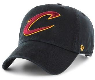 Women's '47 Clean Up Cleveland Cavaliers Baseball Cap - Black $25 thestylecure.com