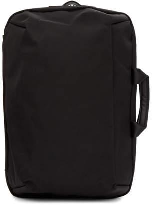 Issey Miyake Black Convertible Toffee Nylon Backpack
