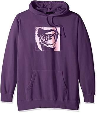 Obey Men's Screamer Basic Pullover Hood Fleece Sweatshirt