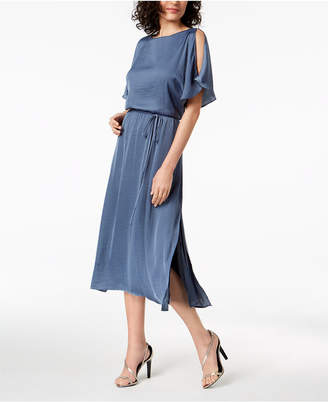 Vince Camuto Cold-Shoulder Maxi Dress, Created for Macy's