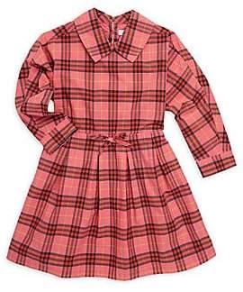 Burberry Little's Girl's& Girl's Cressida Plaid Fit-&-Flare Dress