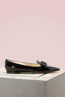Jimmy Choo Gala patent leather loafers