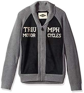 Lucky Brand Men's Triumph Shawl Cardigan Sweater
