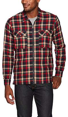 UNIONBAY Men's Long Sleeve Button-up Flannel Shirt Jacket