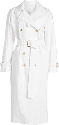 Max Mara Linen Trench Coat