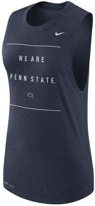 Nike Women's Penn State Nittany Lions Dri-FIT Muscle Tank Top