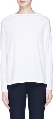 Vince Mock neck Pima cotton long sleeve T-shirt