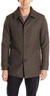 Kenneth Cole New York Men's Wool Car Coat