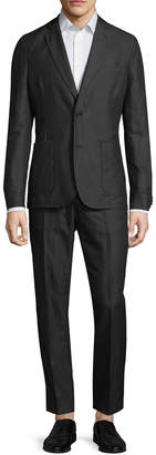 J. Lindeberg Hopper Light Linen Notch Lapel Suit