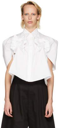Junya Watanabe White Bow Shirt