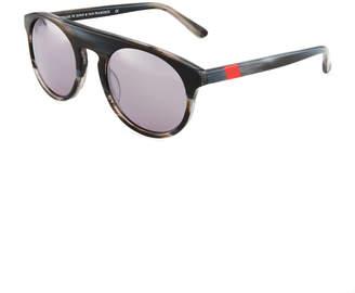 Westward Leaning Atlas Round Acetate Sunglasses