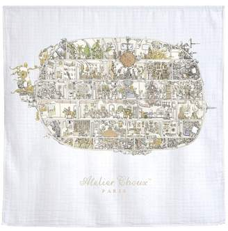 Atelier Choux Space Invaders Swaddle Blanket