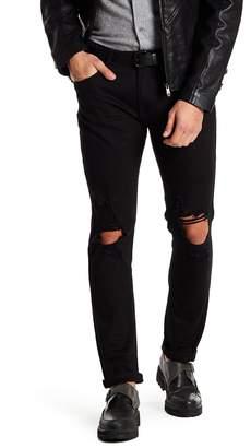 X-Ray Distressed Straight Leg Jeans - 30-32 Inseam