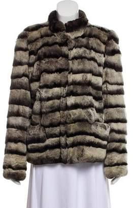 Dennis Basso Chinchilla Fur Coat