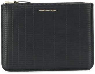 Comme des Garcons textured leather wallet