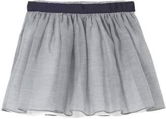 Jacadi Marbre Cotton & Silk Skirt