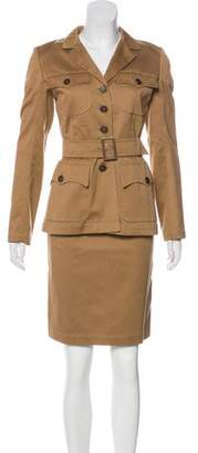 Alaia Belted Pencil Skirt Suit w/ Tags