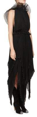 Givenchy Pleated Georgette Dress
