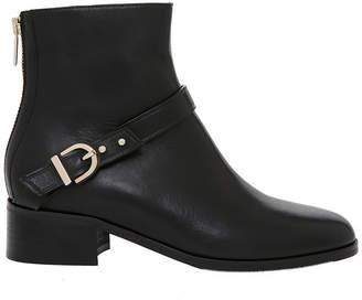 Maree Black Calf Leather Boot