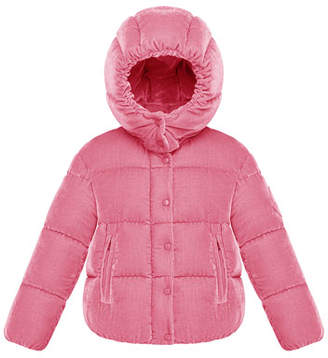 Moncler Caille Hooded Jacket, Size 8-14