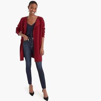 J.Crew Juliette collarless sweater-blazer