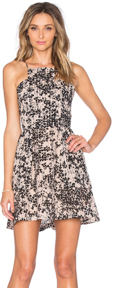 J.O.A. Floral Scattered Dress $80 thestylecure.com