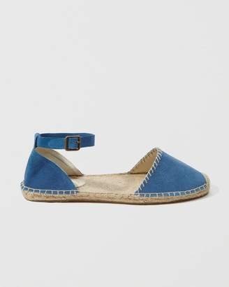 Abercrombie & Fitch Soludos D'orsay Espadrille Flat