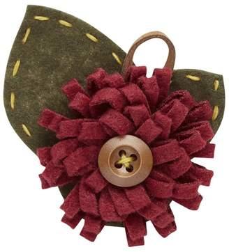 Joe Browns Red Button Flower Pin