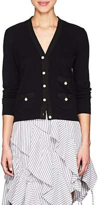 Barneys New York Women's Embellished Knit Cashmere Cardigan - Navy