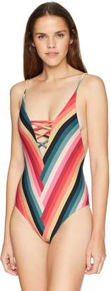 Billabong Women's Color Spell One Piece Swimsuit
