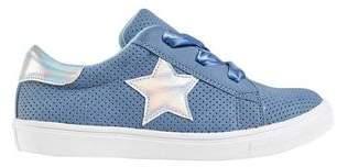 Mens **Girls Blue Low Top Sneakers (5- 12 years)