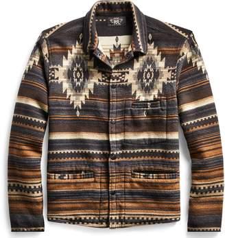 Ralph Lauren Cotton-Wool-Jacquard Overshirt
